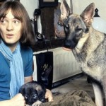 Steve Marriott (& the infamous dog Seamus)
