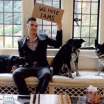 Morrissey and his dogs