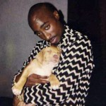 Tupac and his dog