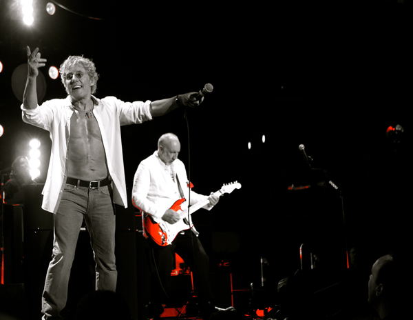 Roger Daltrey and Pete Townshend perform &quot;Quadrophenia&quot; at Staples Center Los Angeles.  Photo: Brian Michaels; globaleyephoto.zenfolio.com