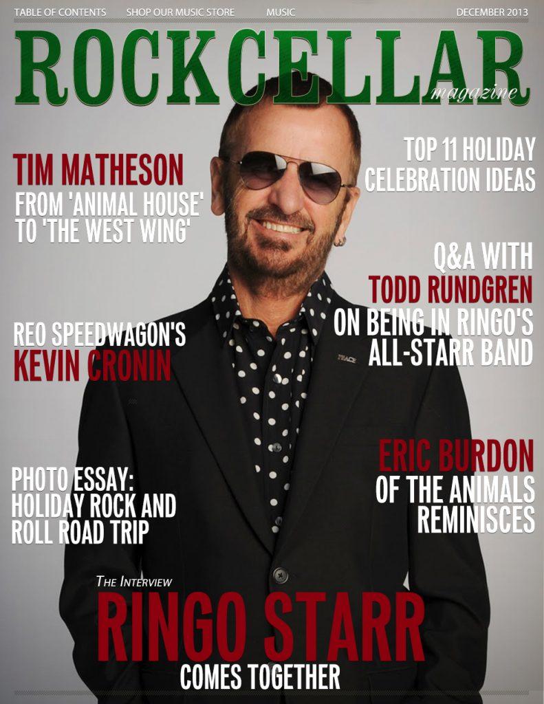 December 2013 Ringo Starr