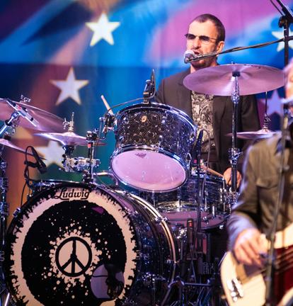 Ringo Drumming