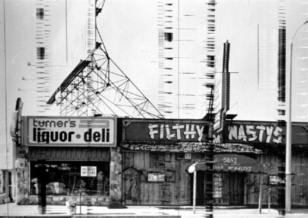 Filthy McNastys Sunset Boulevard Strip