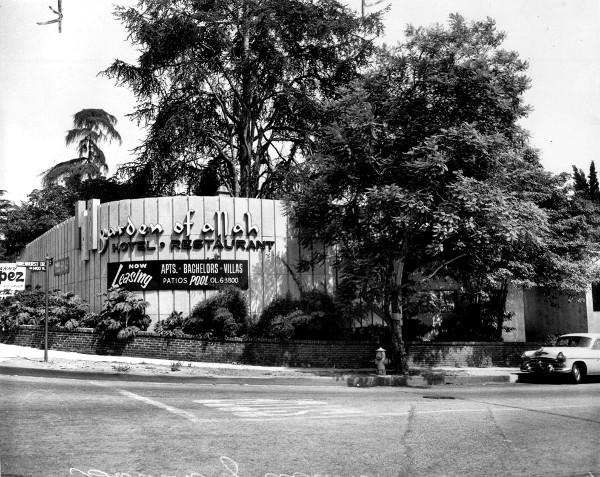 Garden of Allah Sunset Boulevard Strip