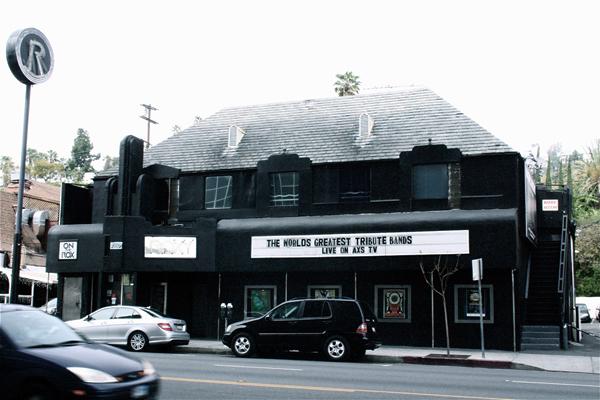 The Roxy Sunset Strip