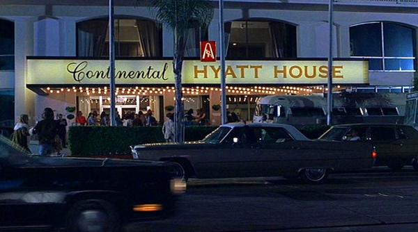 Continental Hyatt House Sunset Boulevard Strip