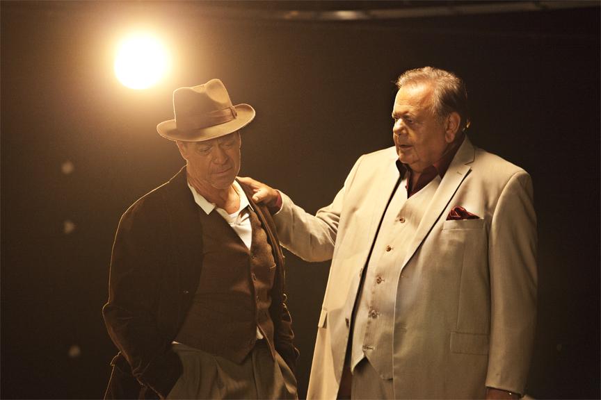 Joe and co-star Paul Sorvino.