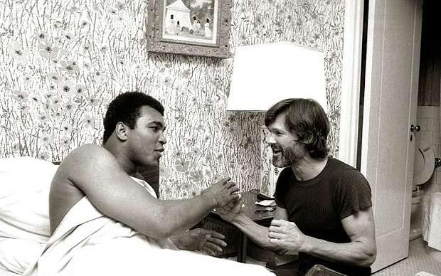 Kris and Muhammad Ali