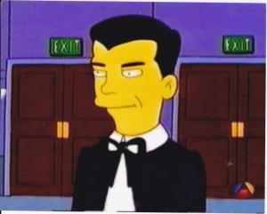 Eddie Munster, Simpson-ized