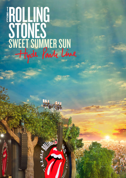 The Rolling Stones to Release 'Sweet Summer Sun – Hyde Park Live' DVD/Blu-ray on November 12