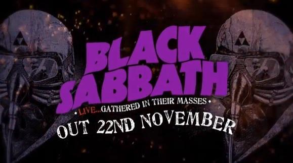 black sabbath gathered clip
