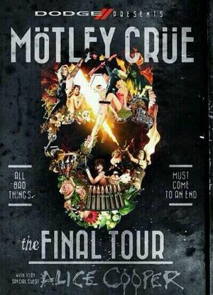 motley crue farewell tour poster