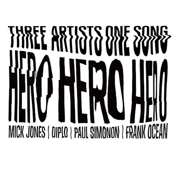 Mick Jones + Paul Simonon of The Clash, Frank Ocean Collaborate on 'Hero' for Converse (Listen)
