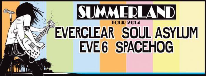 Summerland Tour 2014 Announced: Everclear, Soul Asylum, Eve 6, Spacehog to Take Part