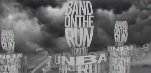 band on the run lyric video cap