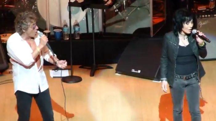 Roger Daltrey and Joan Jett Perform 'Summertime Blues' at Children's Hospital Charity (Video)