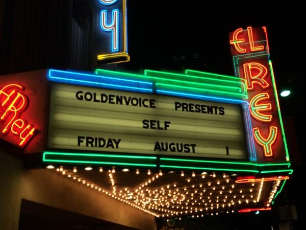 Gig Recap: sElf/Matt Mahaffey and Hellogoodbye at the El Rey Theatre