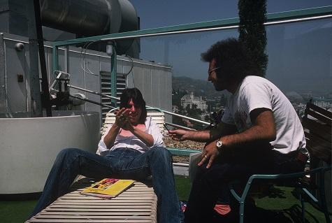 Beck & Rosen, mid-chat