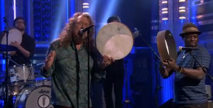 Robert Plant Hits 'The Tonight Show' (Video)
