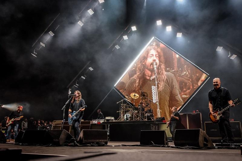 Foo Fighters at Cal Jam 18 (Photo: Chris Molina)