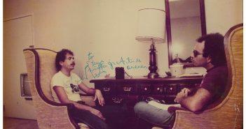 Carlos Santana and Steve Rosen