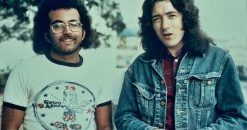 Steve Rosen and Rory Gallagher (Photo: Glen Laferman)