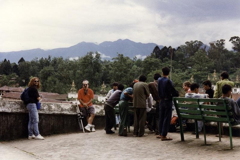 Steve Rosena and Jimmy Waldo in Nepal