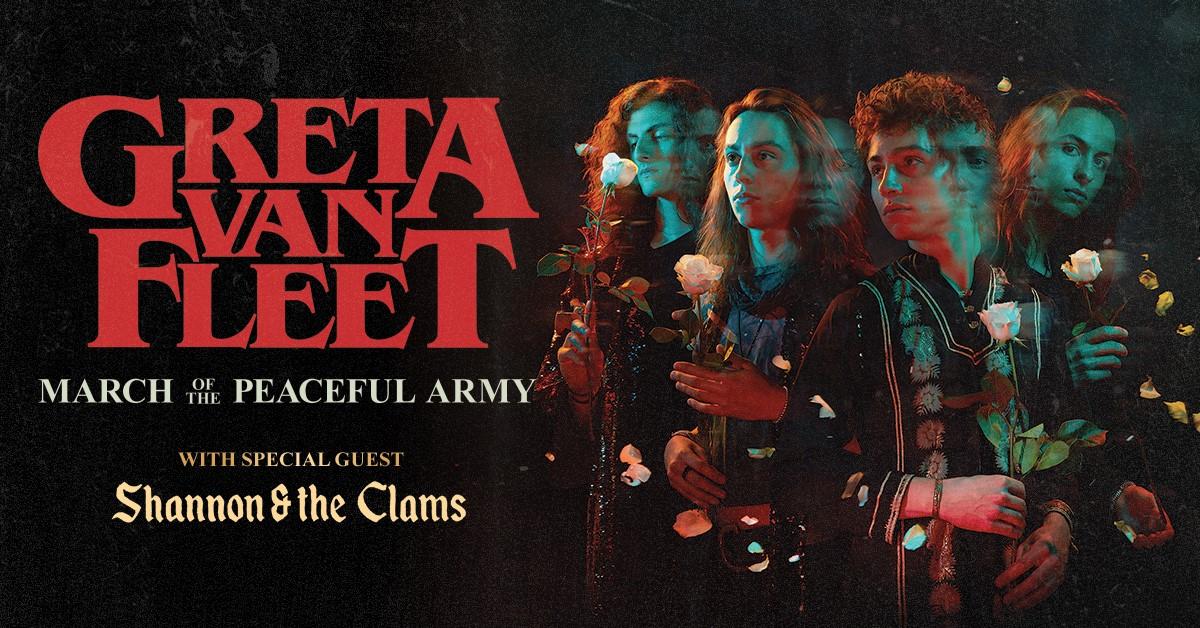 Greta van fleet announce north american 39 march of the peaceful army 39 tour rockcellarmagazine - Greta van fleet download ...