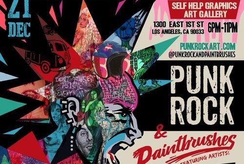 punk rock + paintbrushes 2019