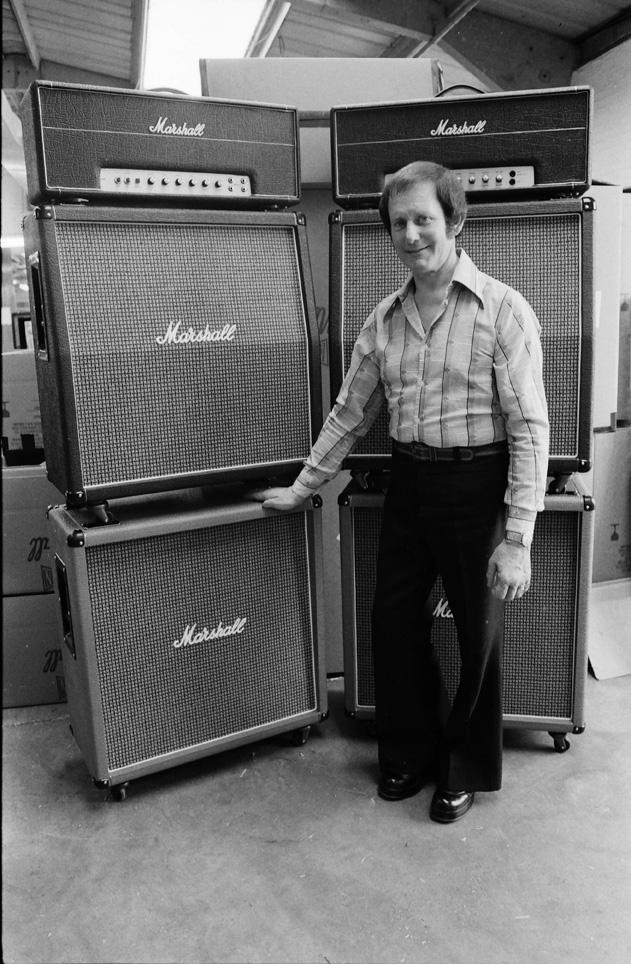 MARSHALL FACTORY TOUR, JIM MARSHALL ENGLAND, 1976, NEIL ZLOZOWER