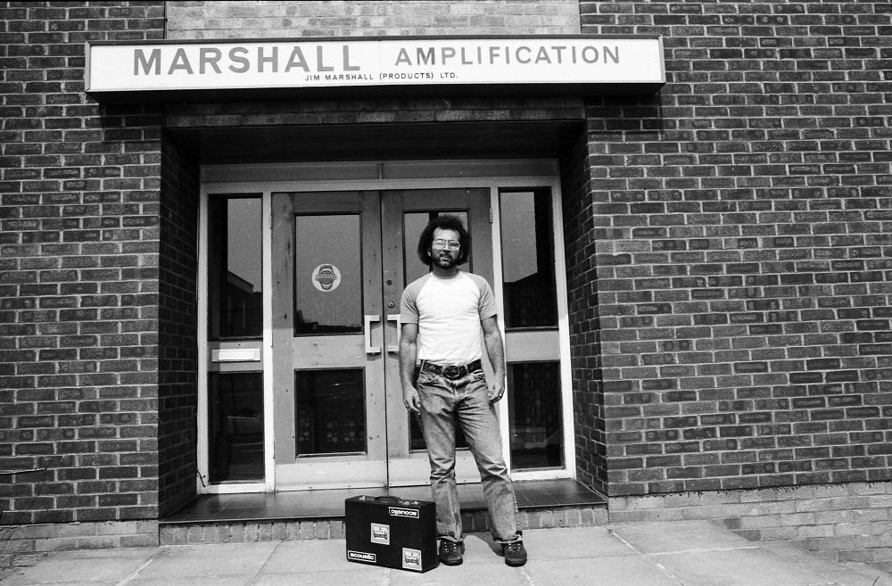 Marshall Factory Tour, 1976 (Neil Zlozower)