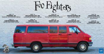 foo fighters van tour 2020