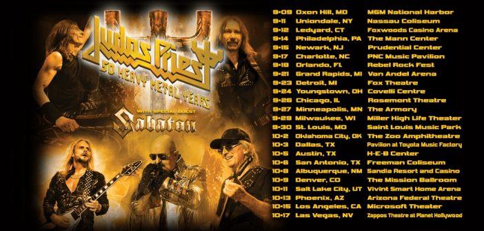 judas priest 2020 tour dates