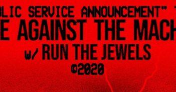 rage against the machine tour 2020