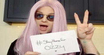 Kelly Osbourne #StayHomeForOzzy
