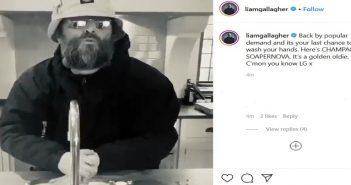 Liam Gallagher Coronavirus PSA