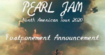pearl jam tour postponed 2020