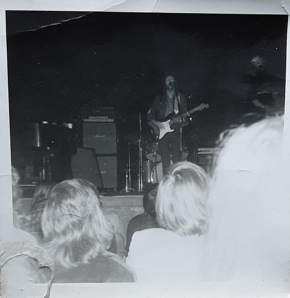 Eric Clapton, Santa Monica Civic Auditorium, 1970 (Photo by Steve Rosen)