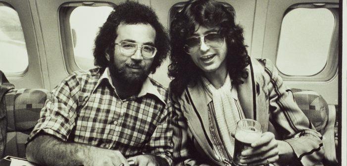 Steve Rosen and Jimmy Page (Photo: Neal Preston)