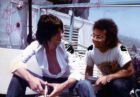 Jeff Beck and Steve Rosen