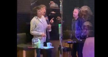 Rolling Stones 'Ghost Town' Studio