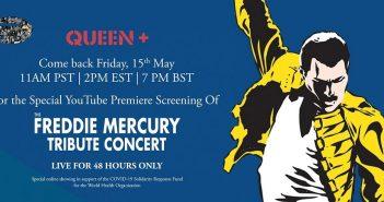 queen freddie mercury tribute concert