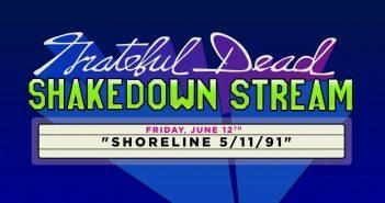 grateful dead shakedown stream shoreline 1991