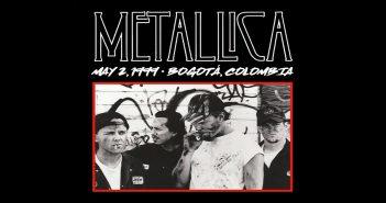 metallica mondays bogota 1999