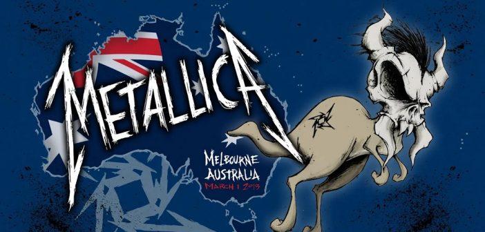 metallica mondays melbourne