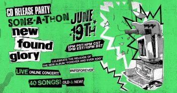 New Found Glory live stream event