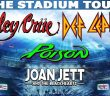 Rock Cellar Magazine | The Stadium Tour with Motley Crue, Def Leppard, Poison and Joan Jett & the Blackhearts Postponed to Summer 2021