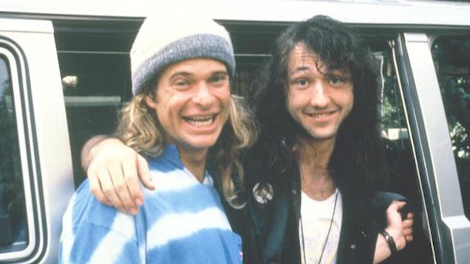 David Lee Roth and Jason