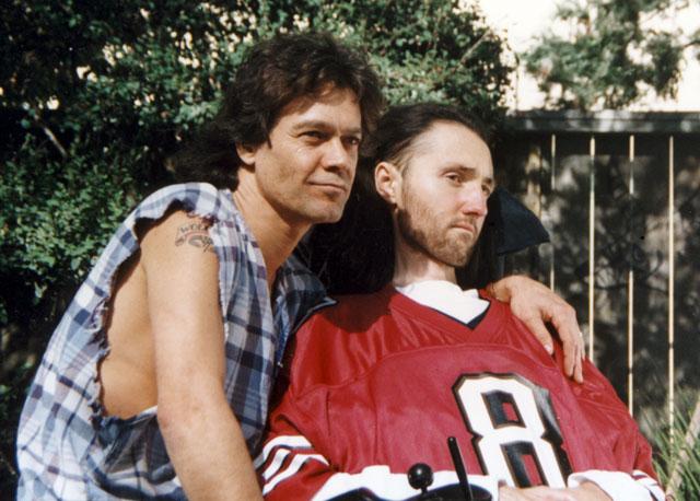 Eddie Van Halen and Jason Becker