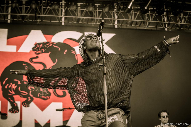 Black Pumas at BottleRock Napa Valley Music Festival 2021